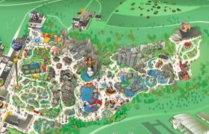 Mappa Legoland